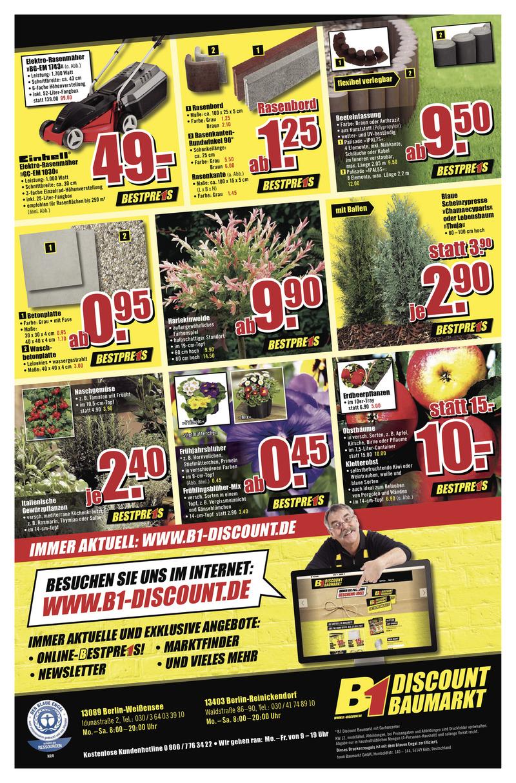 B1-Discount Prospekt vom 18.03.2017, Seite 3