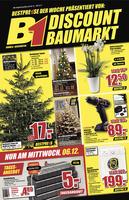 B1-Discount Prospekt vom 02.12.2017