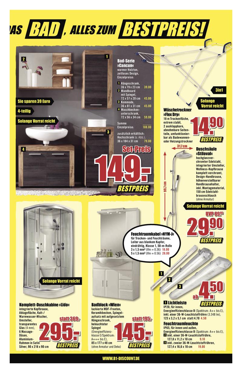 B1 Discount Prospekt vom 13.01.2018, Seite 2