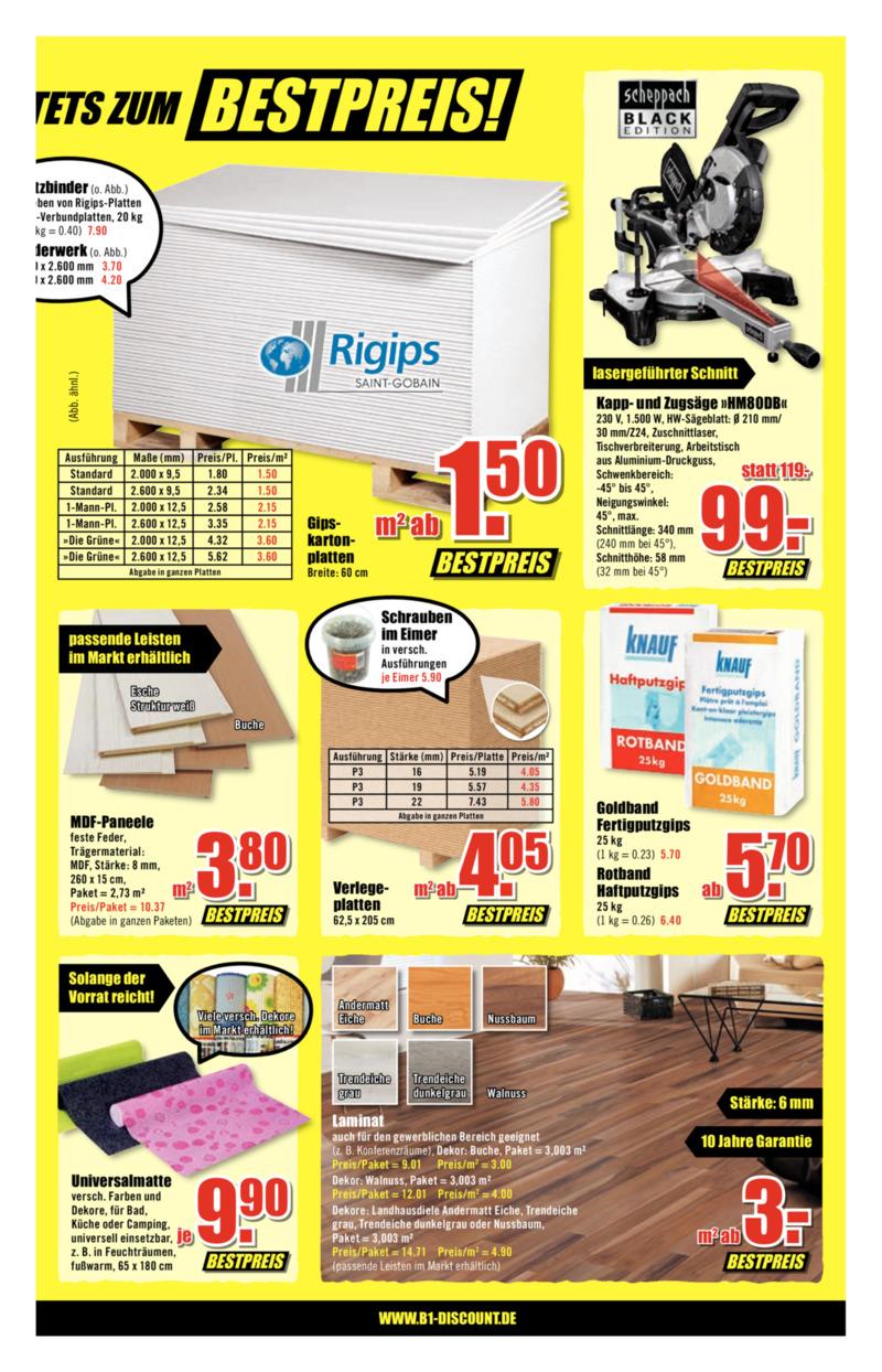 B1 Discount Prospekt vom 09.02.2019, Seite 2