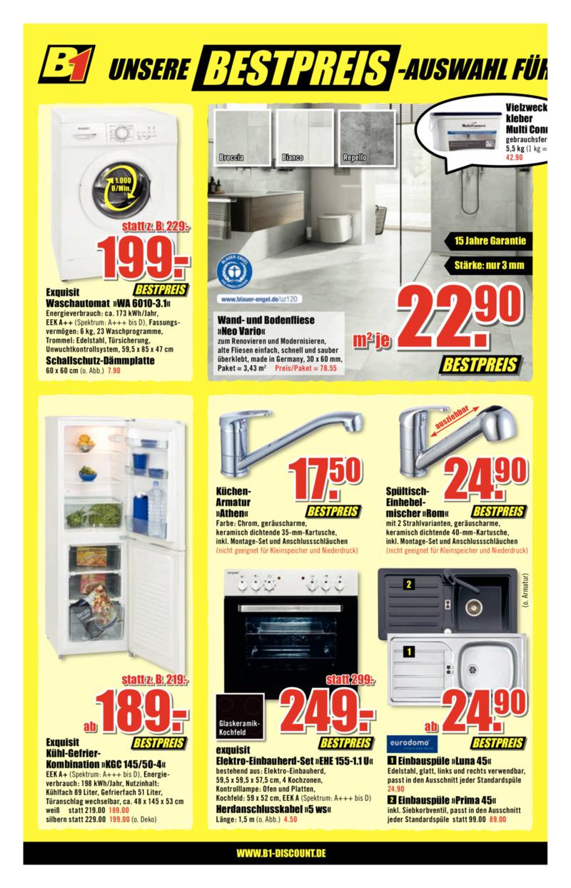 B1 Discount Prospekt vom 09.02.2019, Seite 5