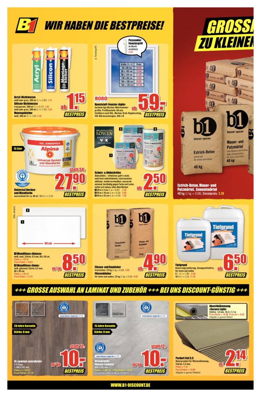 B1 Discount Prospekt vom 30.05.2020, Seite 5