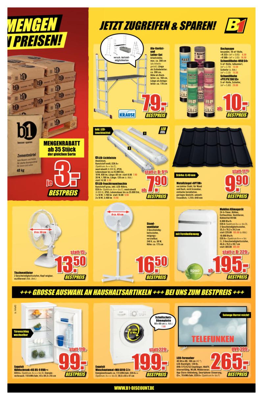 B1 Discount Prospekt vom 30.05.2020, Seite 6