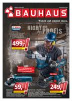 Bauhaus Prospekt vom 28.08.2017