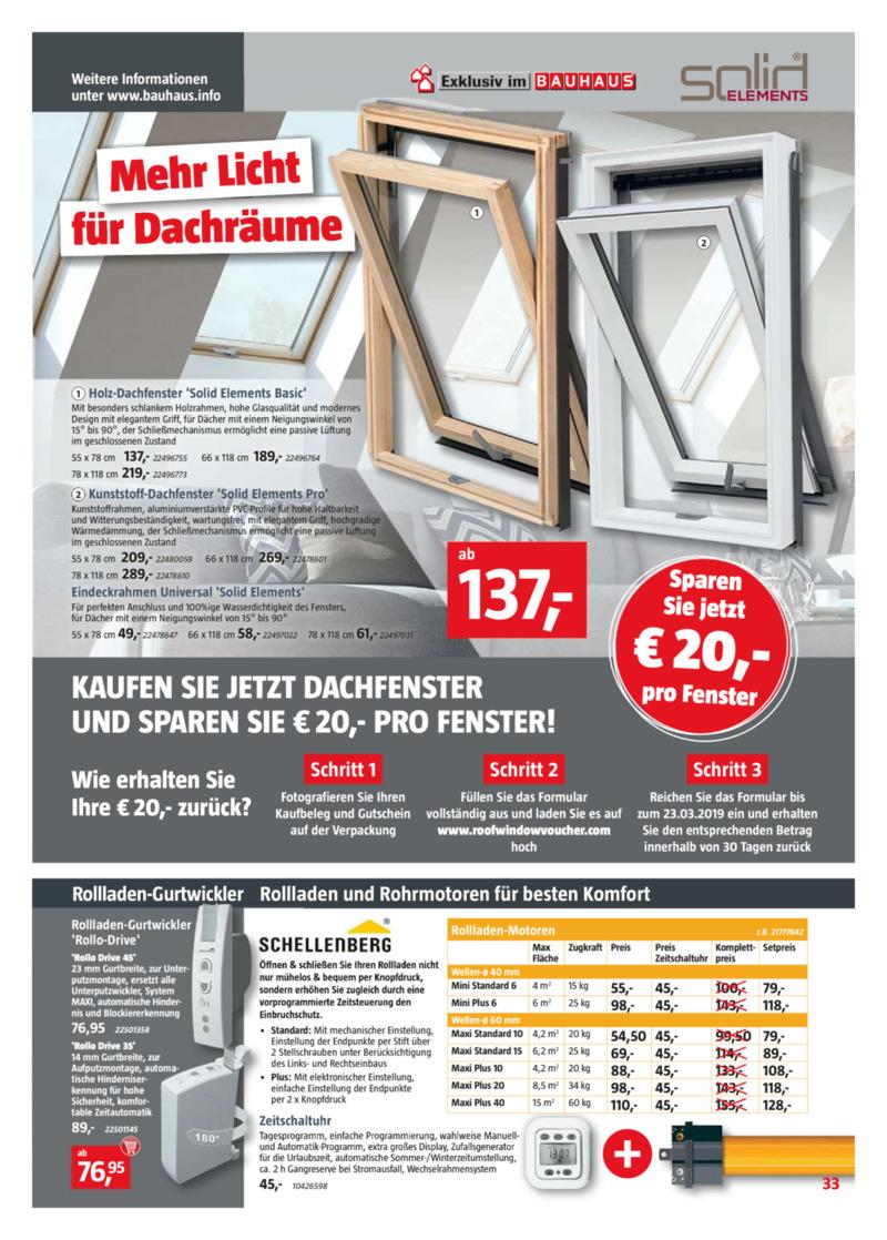 Bauhaus Prospekt vom 22.02.2019, Seite 32