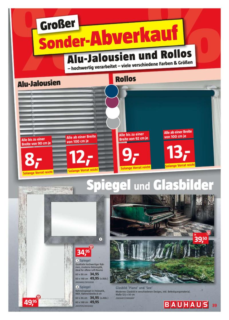 Bauhaus Prospekt vom 22.02.2019, Seite 38