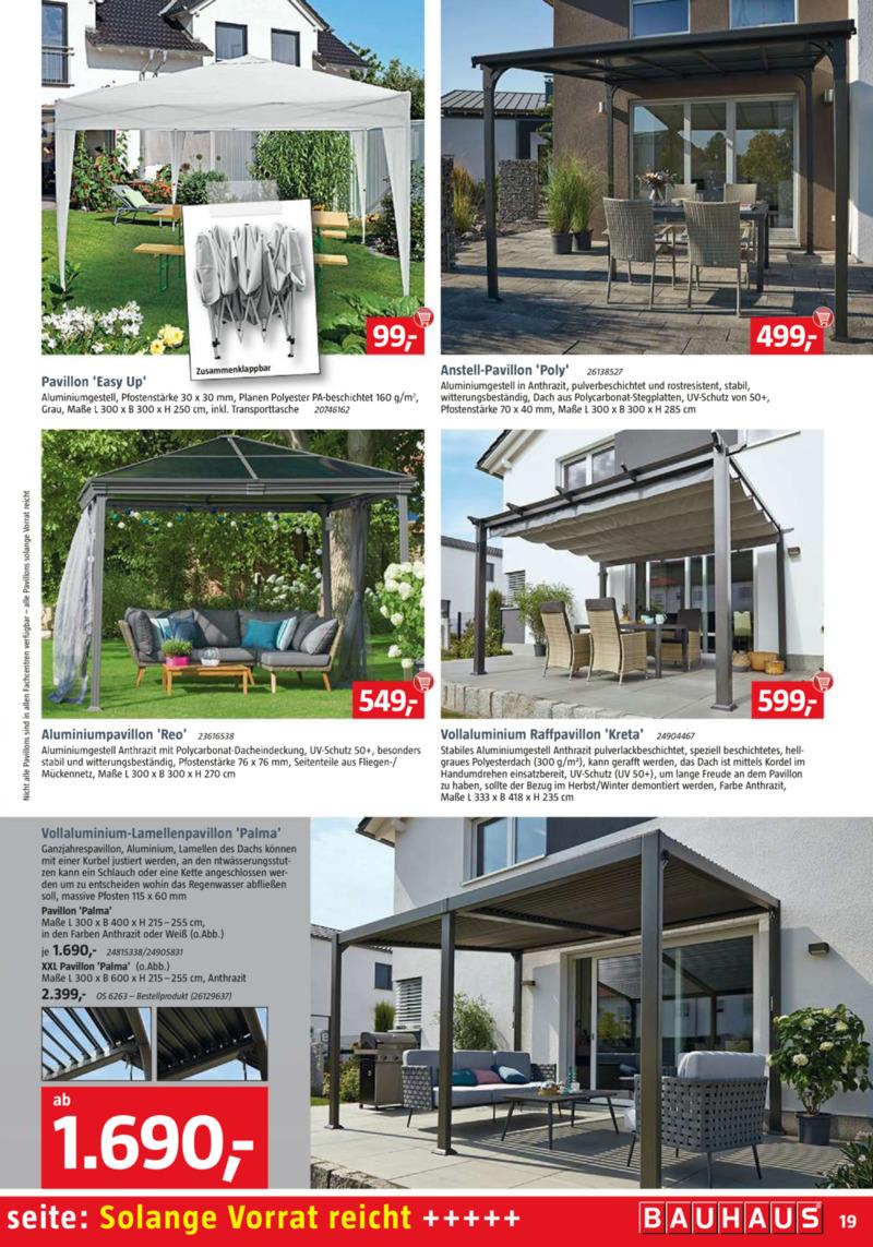 Bauhaus Prospekt vom 01.04.2019, Seite 18