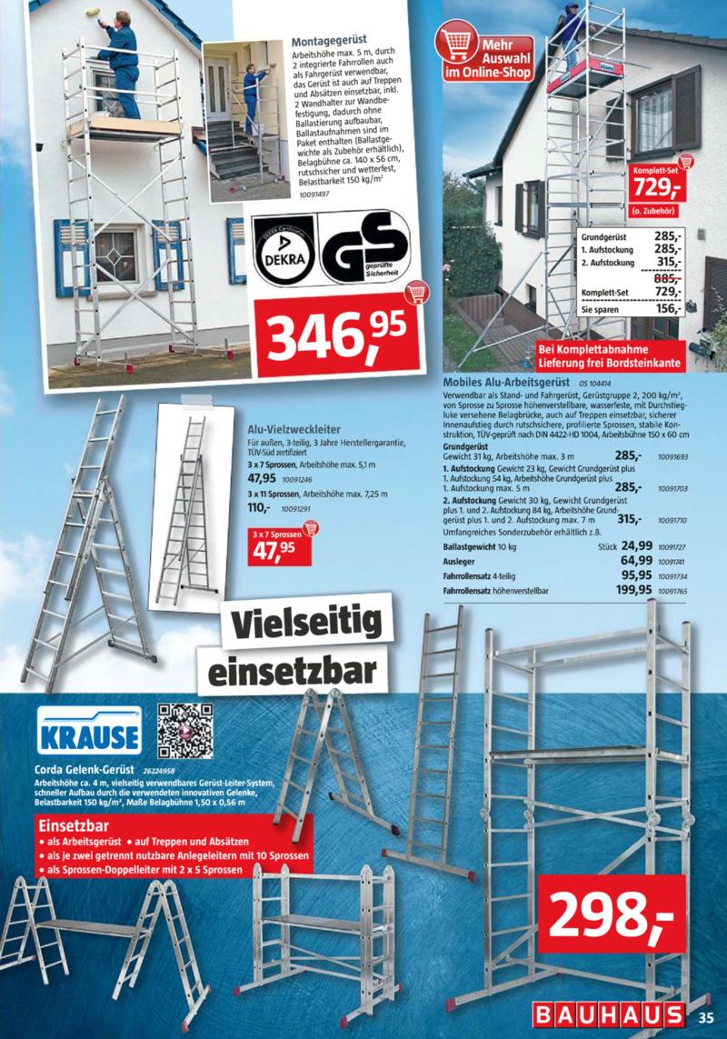 Bauhaus Prospekt vom 01.04.2019, Seite 34