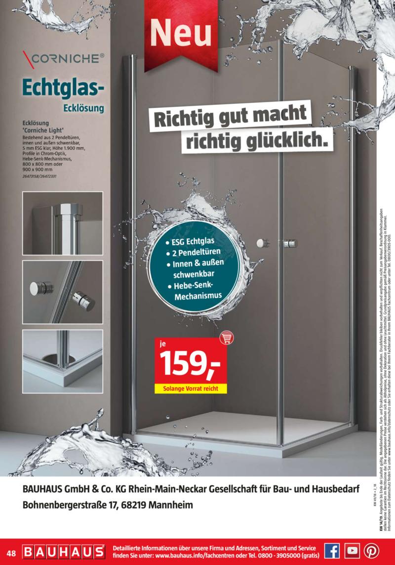Bauhaus Prospekt vom 01.04.2019, Seite 47