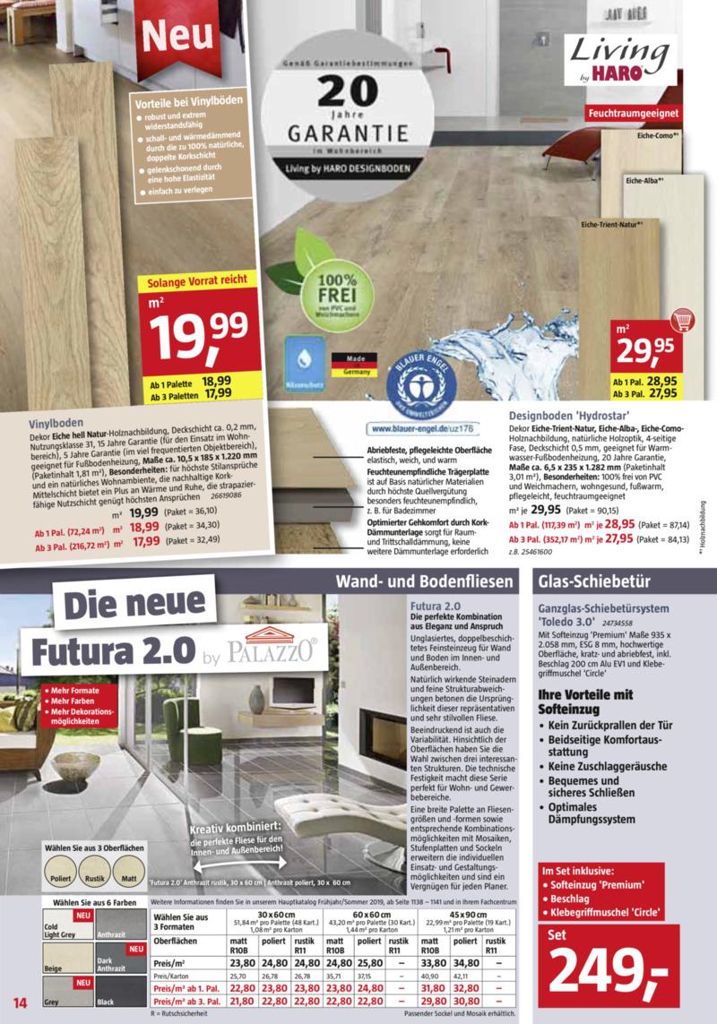Bauhaus Prospekt vom 29.06.2019, Seite 13