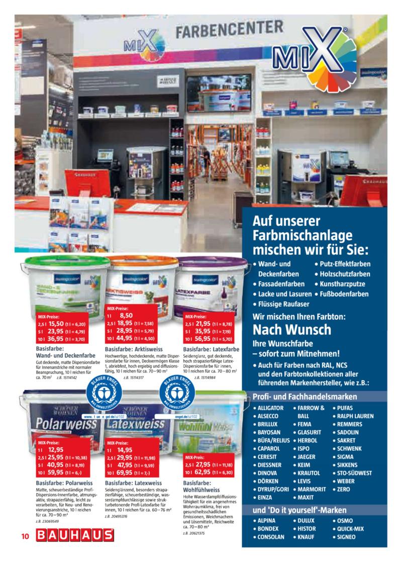 Bauhaus Prospekt vom 30.08.2019, Seite 9