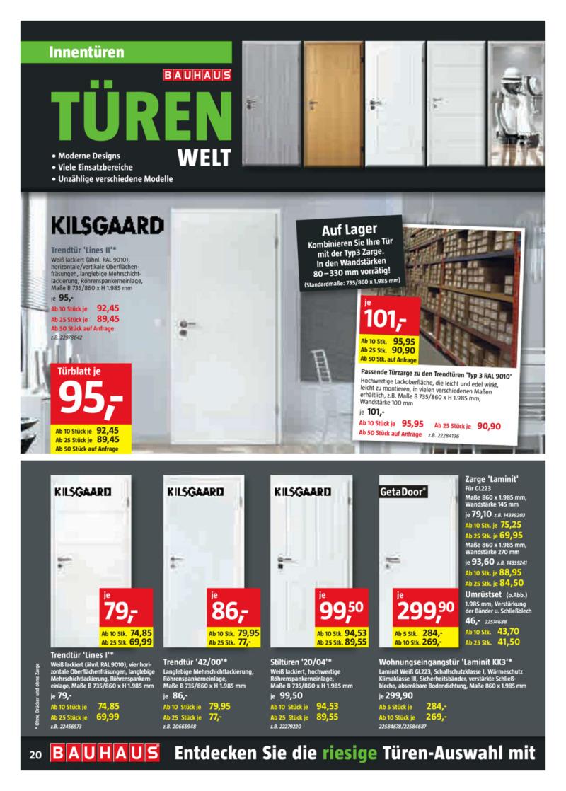 Bauhaus Prospekt vom 30.08.2019, Seite 19