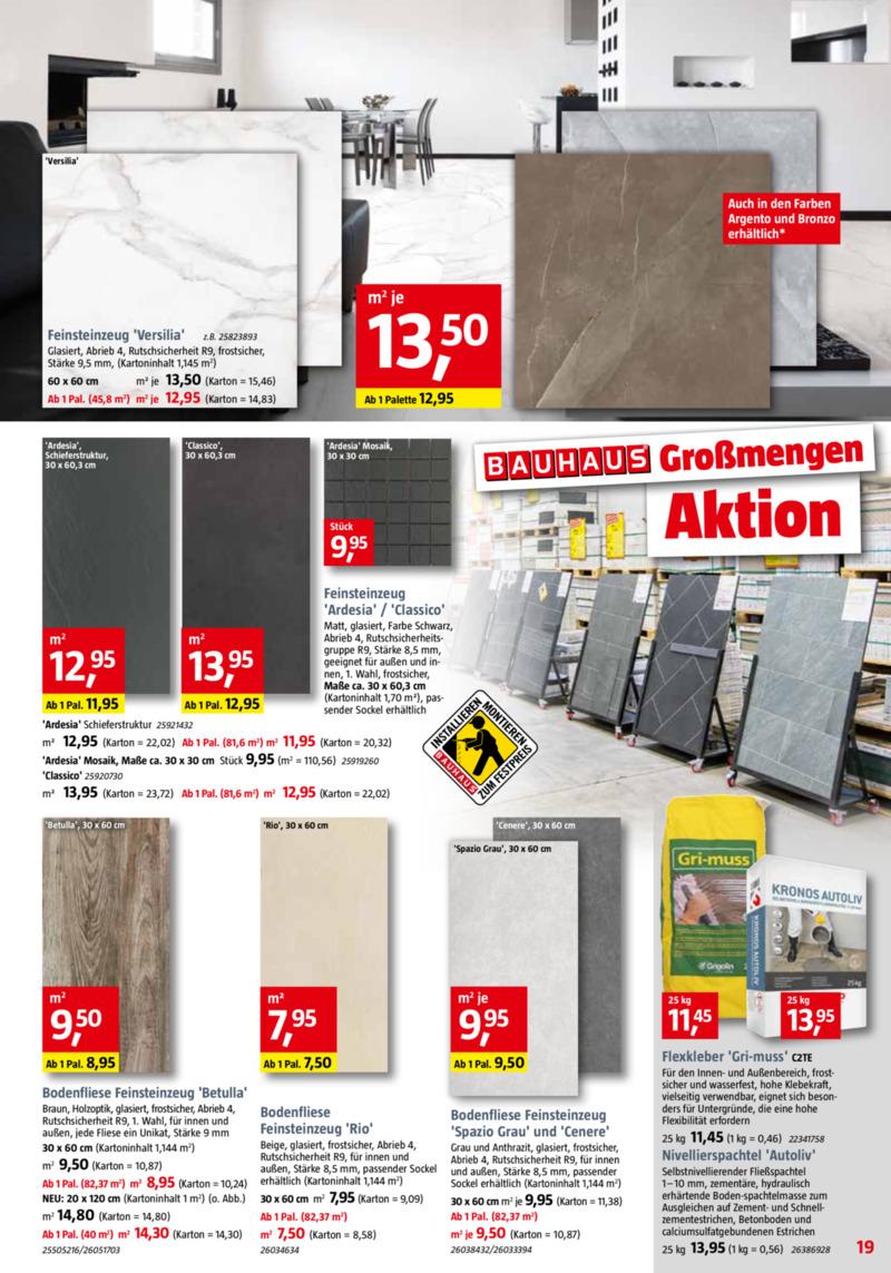 Bauhaus Prospekt vom 30.09.2019, Seite 18
