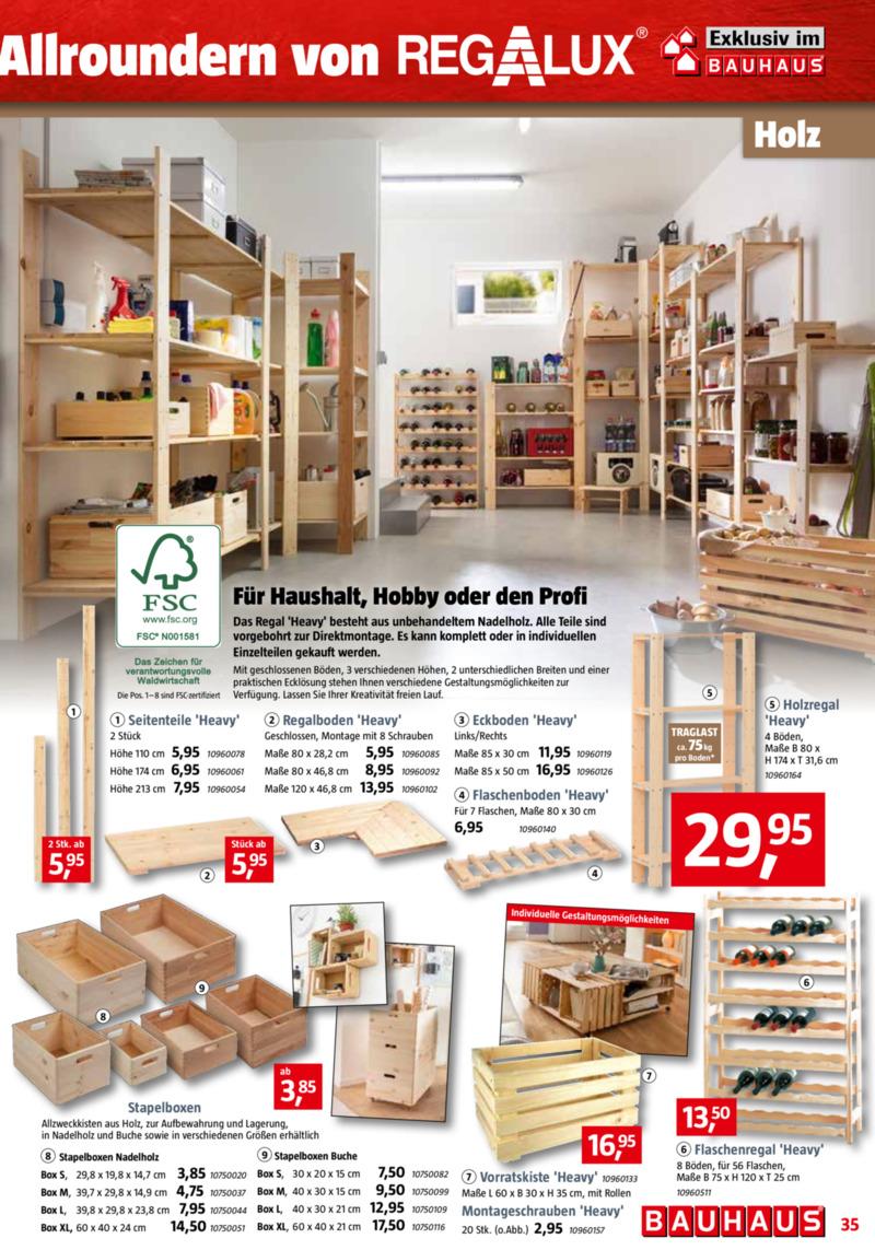 Bauhaus Prospekt vom 30.09.2019, Seite 34