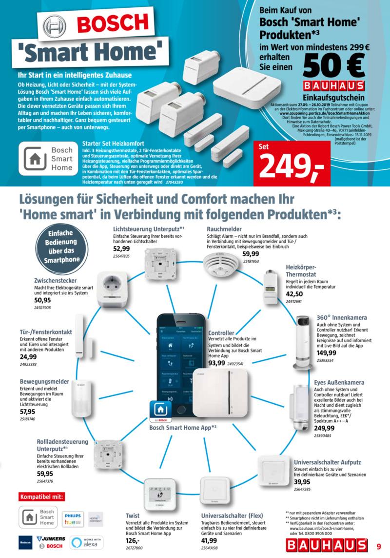 Bauhaus Prospekt vom 30.09.2019, Seite 8