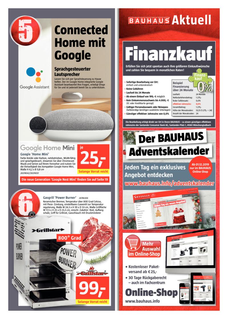 Bauhaus Prospekt vom 29.11.2019, Seite 2