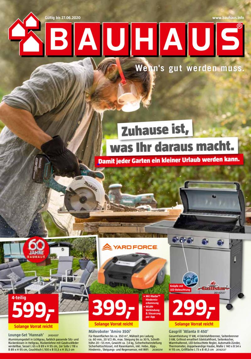 Bauhaus Prospekt vom 29.05.2020, Seite