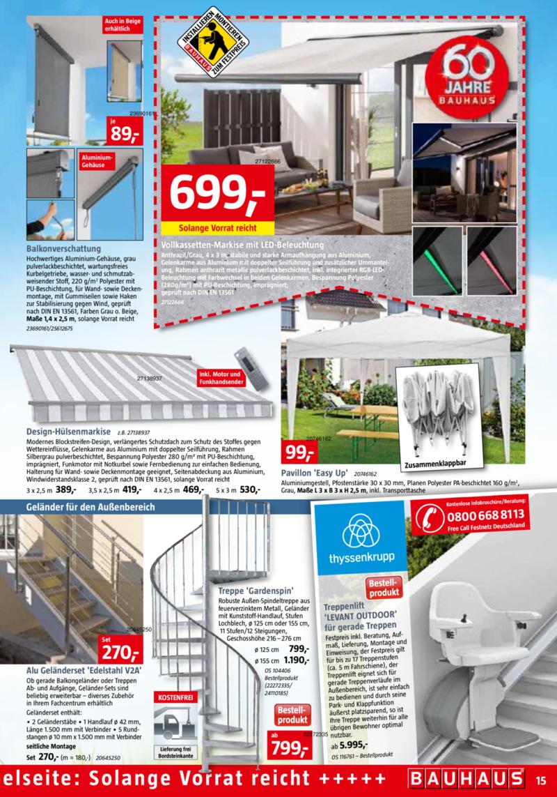 Bauhaus Prospekt vom 29.05.2020, Seite 14