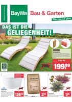 BayWa Bau & Garten Prospekt vom 25.06.2018