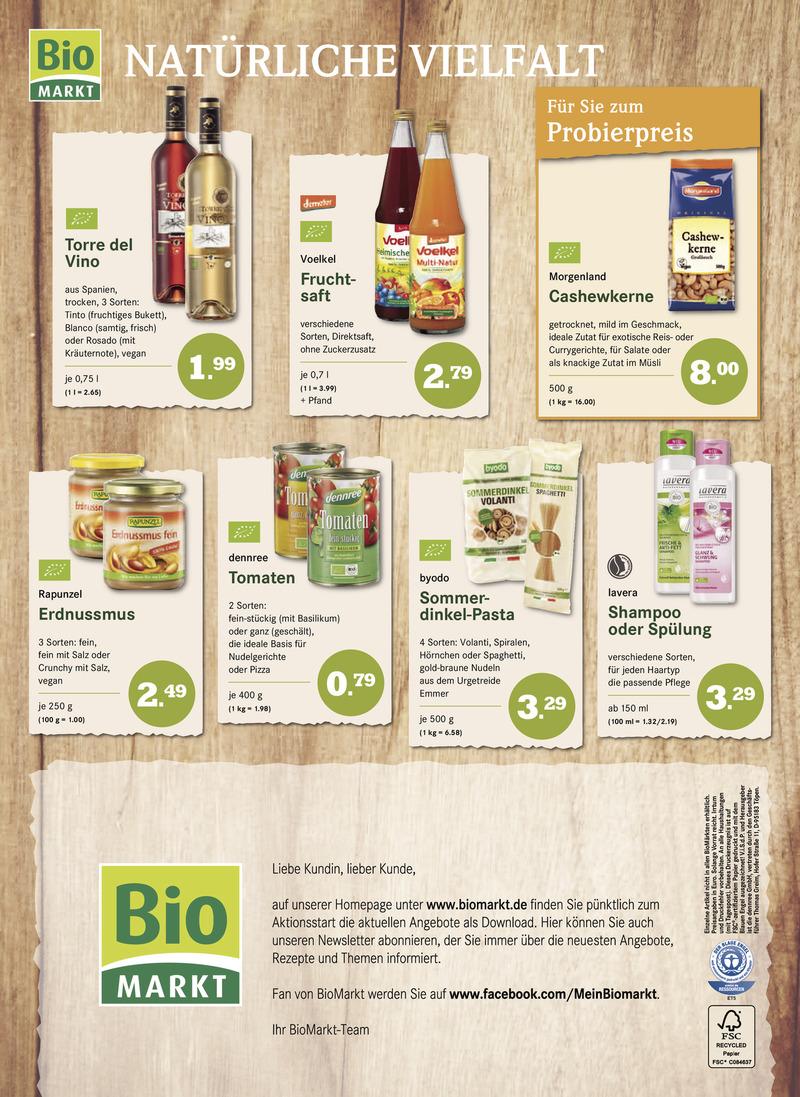 BioMarkt Prospekt vom 04.01.2017, Seite 3