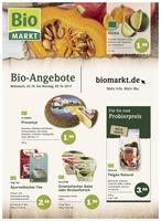 BioMarkt Prospekt vom 25.10.2017