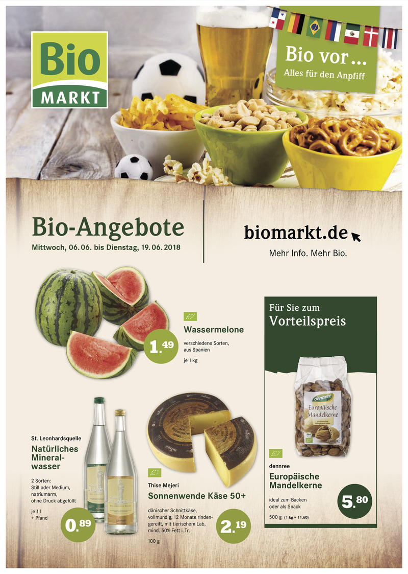 BioMarkt Prospekt vom 06.06.2018, Seite