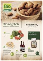 BioMarkt Prospekt vom 01.08.2018
