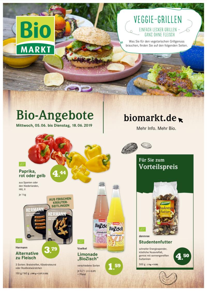 BioMarkt Prospekt vom 05.06.2019