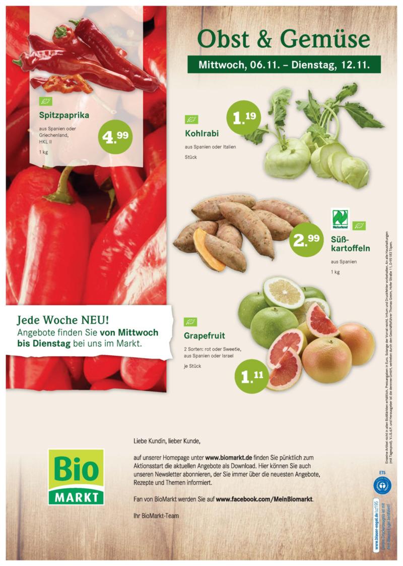BioMarkt Prospekt vom 06.11.2019, Seite 11