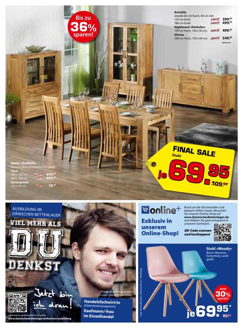 Dänisches Bettenlager Prospekt vom 09.01.2017, Seite 14