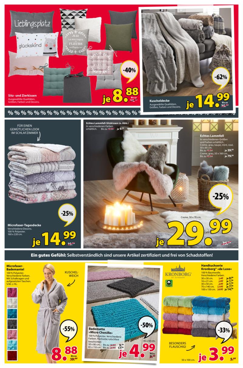 Dänisches Bettenlager Prospekt vom 07.01.2019, Seite 6