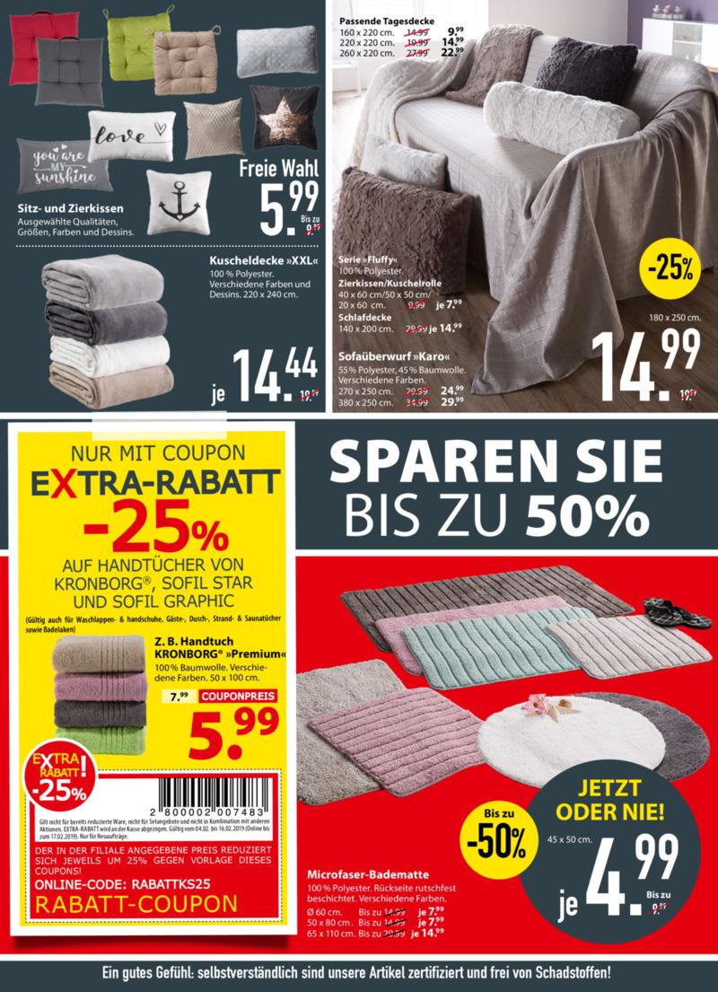 Dänisches Bettenlager Prospekt vom 04.02.2019, Seite 3
