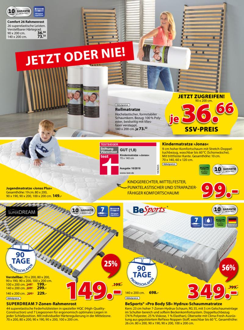 Dänisches Bettenlager Prospekt vom 08.07.2019, Seite 9