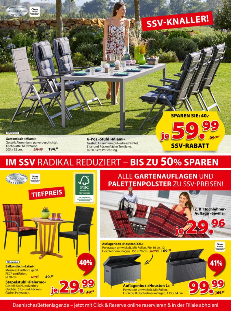 Dänisches Bettenlager Prospekt vom 08.07.2019, Seite 3
