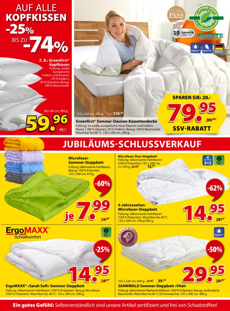 Dänisches Bettenlager Prospekt vom 08.07.2019, Seite 7