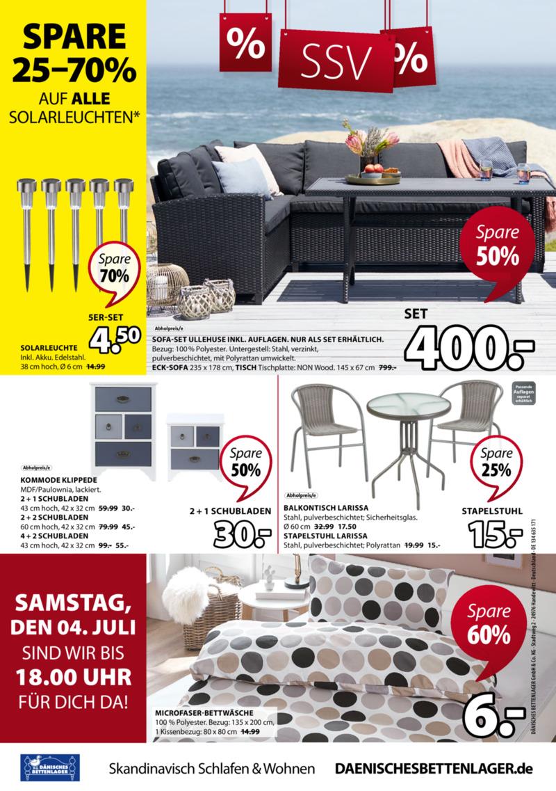 Dänisches Bettenlager Prospekt vom 29.06.2020, Seite 24