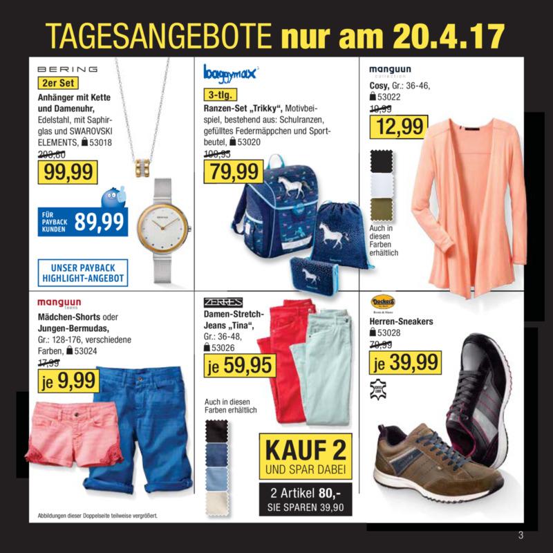 Galeria Kaufhof Prospekt vom 18.04.2017, Seite 2