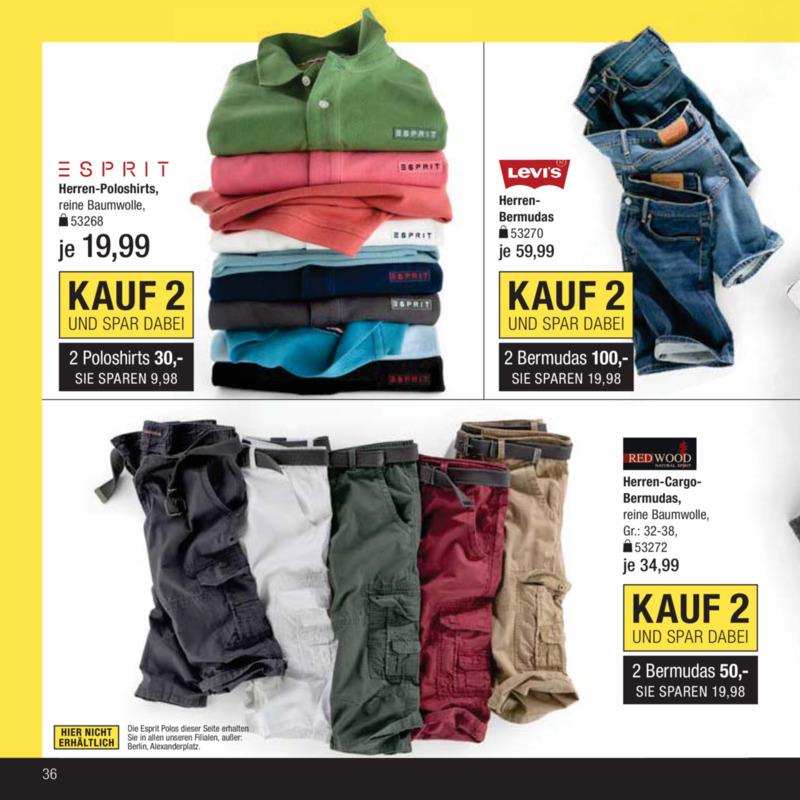Galeria Kaufhof Prospekt vom 18.04.2017, Seite 35