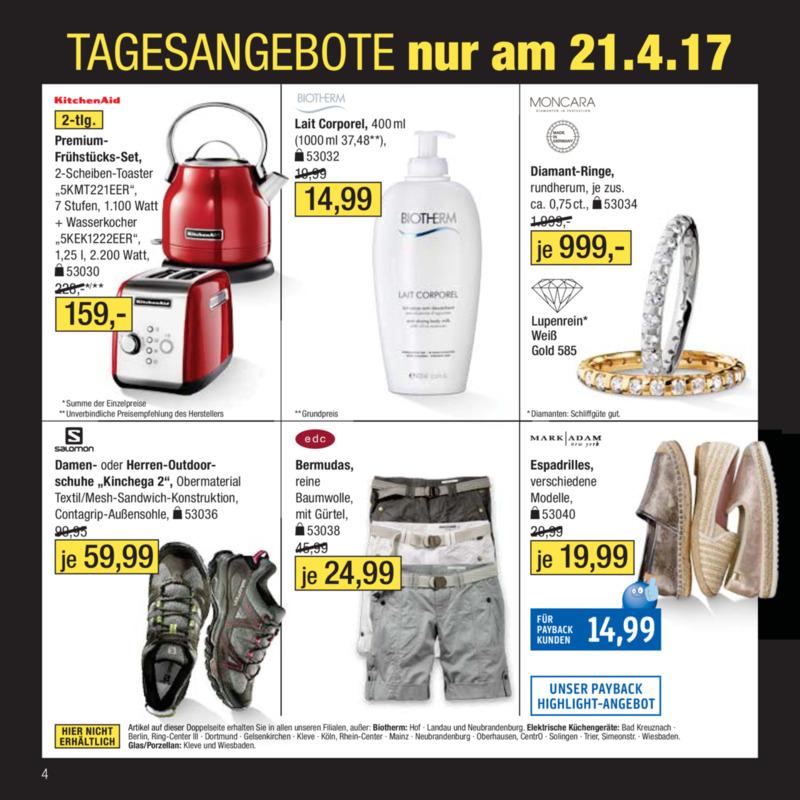Galeria Kaufhof Prospekt vom 18.04.2017, Seite 3