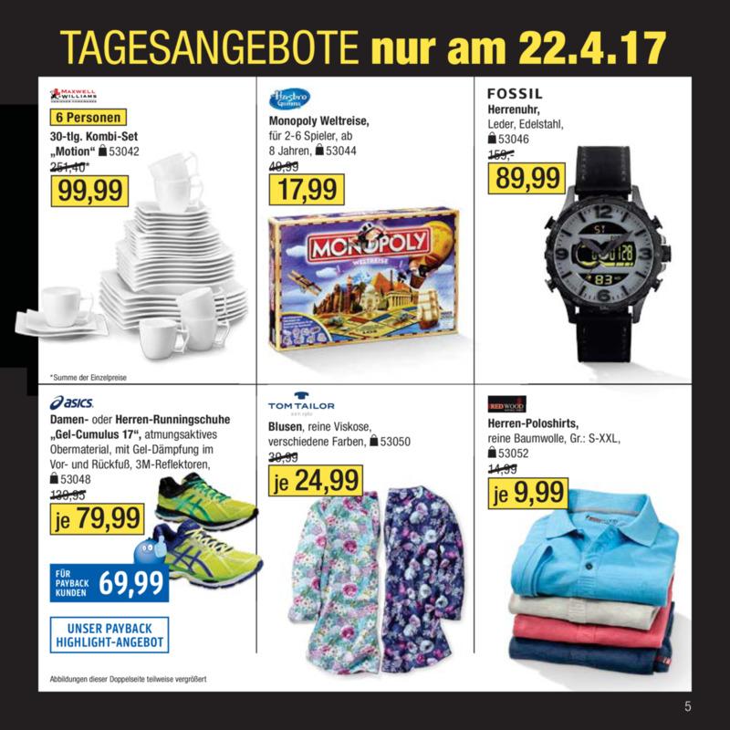 Galeria Kaufhof Prospekt vom 18.04.2017, Seite 4