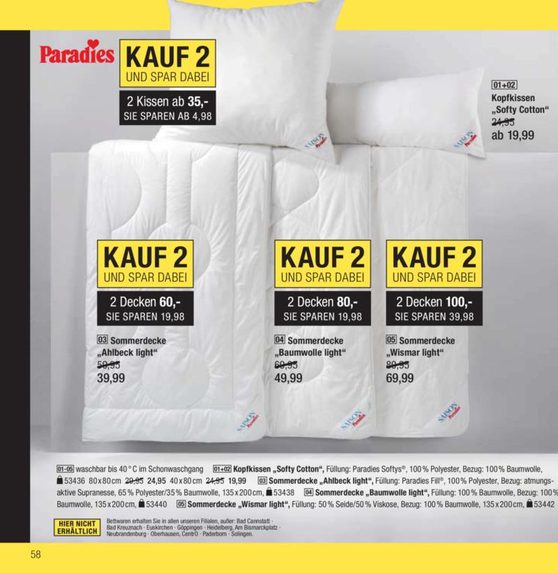 Galeria Kaufhof Prospekt vom 18.04.2017, Seite 57