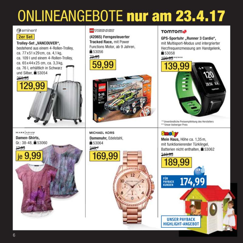 Galeria Kaufhof Prospekt vom 18.04.2017, Seite 5