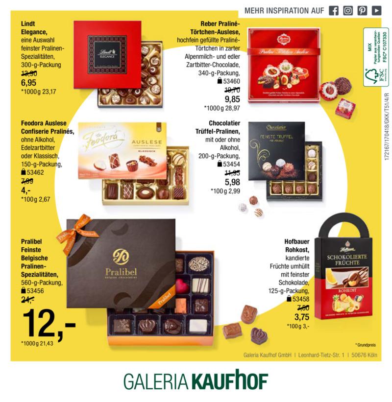 Galeria Kaufhof Prospekt vom 18.04.2017, Seite 59