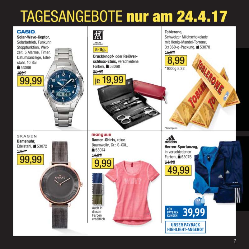 Galeria Kaufhof Prospekt vom 18.04.2017, Seite 6