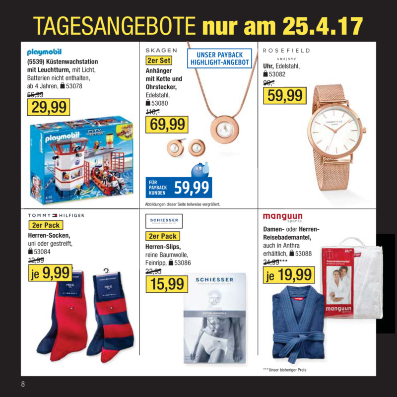 Galeria Kaufhof Prospekt vom 18.04.2017, Seite 7