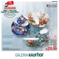 Galeria Kaufhof Prospekt vom 23.05.2017
