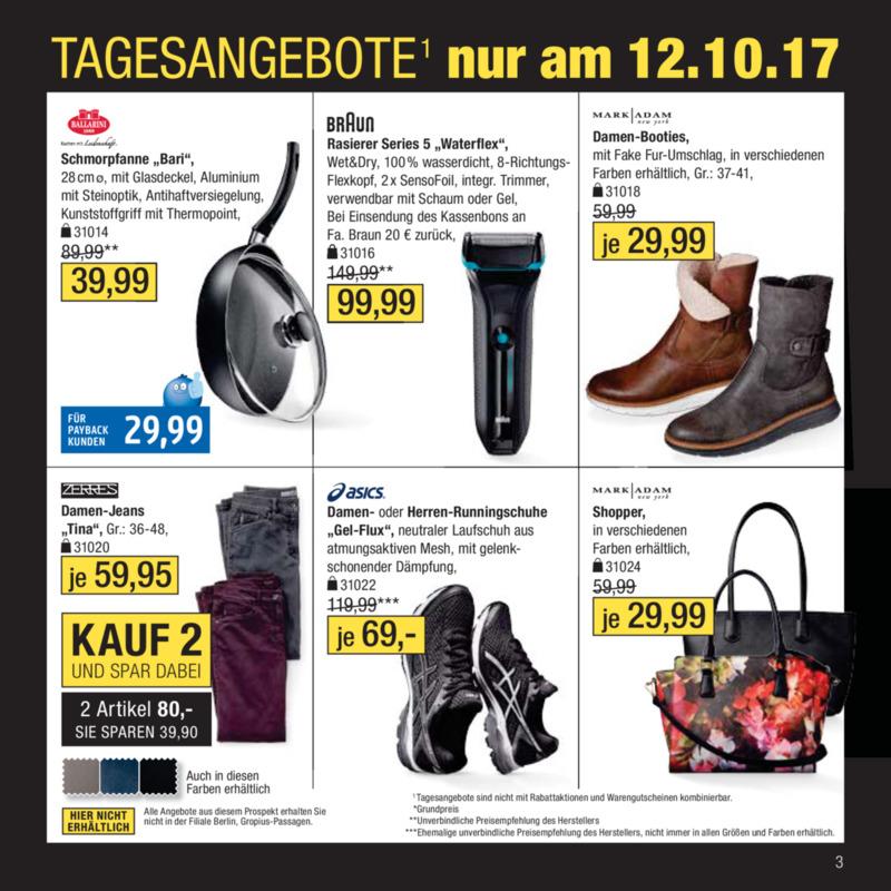Galeria Kaufhof Prospekt vom 11.10.2017, Seite 2