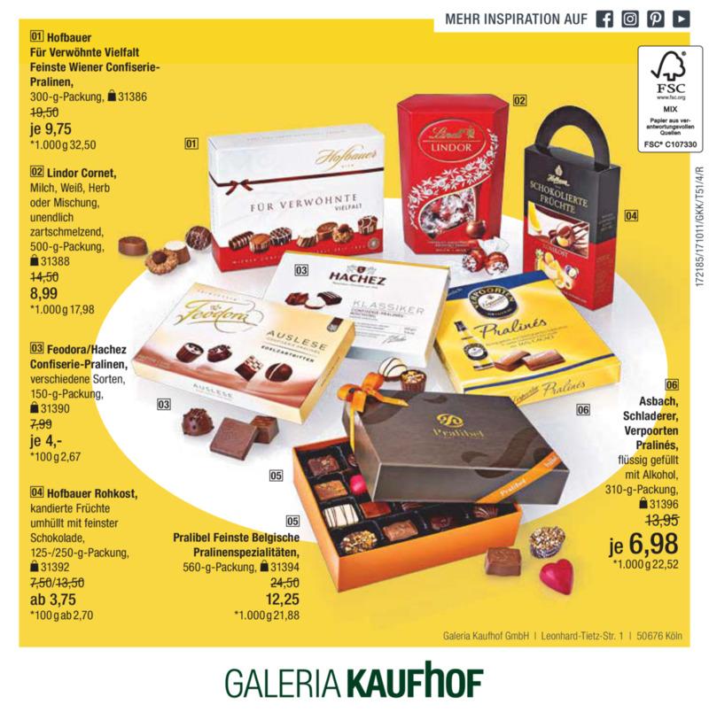 Galeria Kaufhof Prospekt vom 11.10.2017, Seite 55