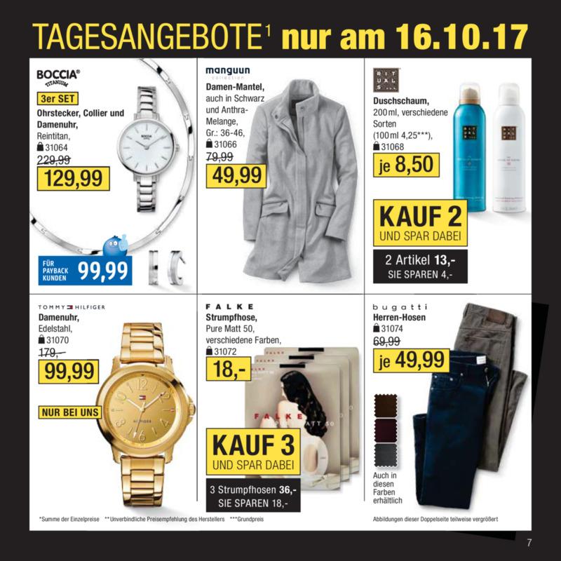 Galeria Kaufhof Prospekt vom 11.10.2017, Seite 6