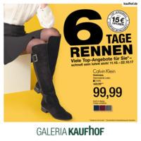 Galeria Kaufhof Prospekt vom 11.10.2017